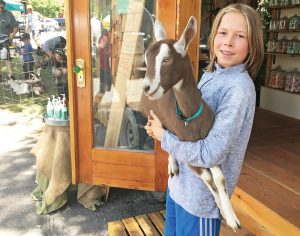 Tiny shop attracts big interest for The Goat's Goods and Steamboat family