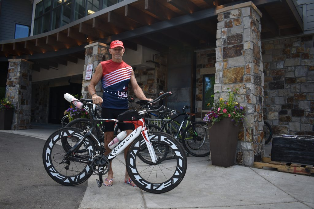 70-year-old Stagecoach triathlete prepares for Ironman World Championship