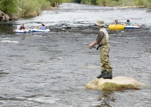 Tubing kicks off in Steamboat, though the Yampa River is still a rough ride
