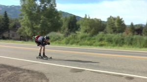 VIDEO: Roller skiing