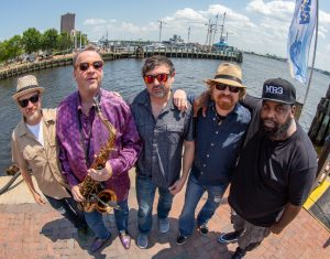 New Orleans Suspects groove on back from below sea level to 6,900 feet for free Friday show