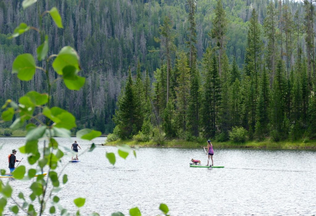 Pictures from Pearl Lake north of Steamboat Springs