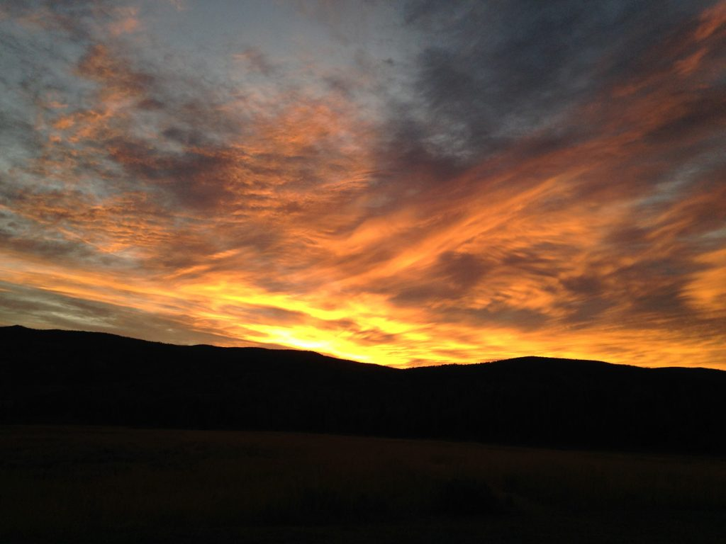 Good morning, sunshine! South Routt