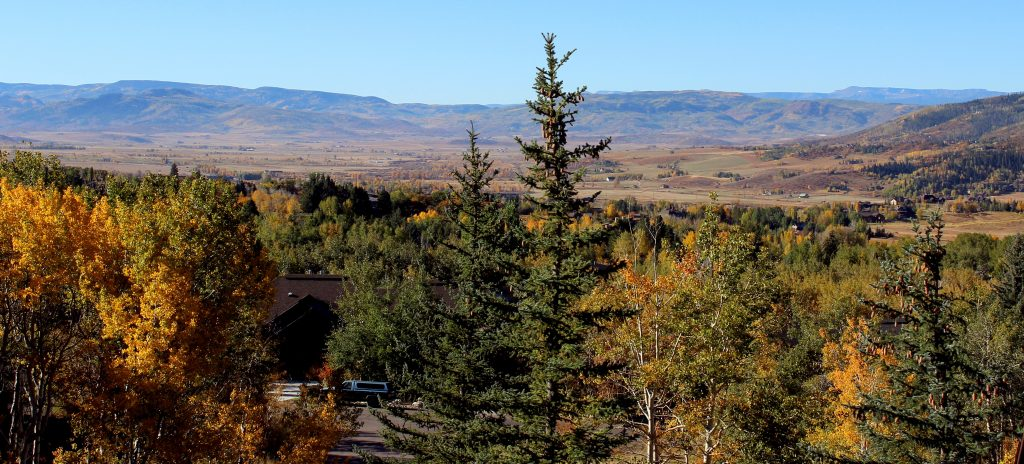 Fall appears across the Yampa Valley.