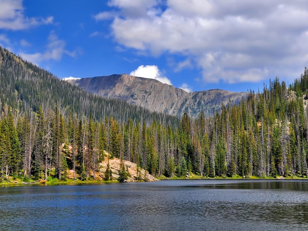 Gold Creek Lake, Mount Zirkel Wilderness