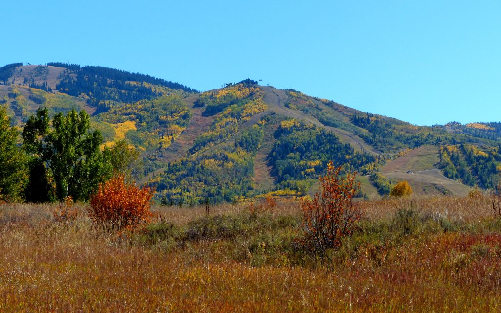 Fall pushes in at Steamboat Resort.
