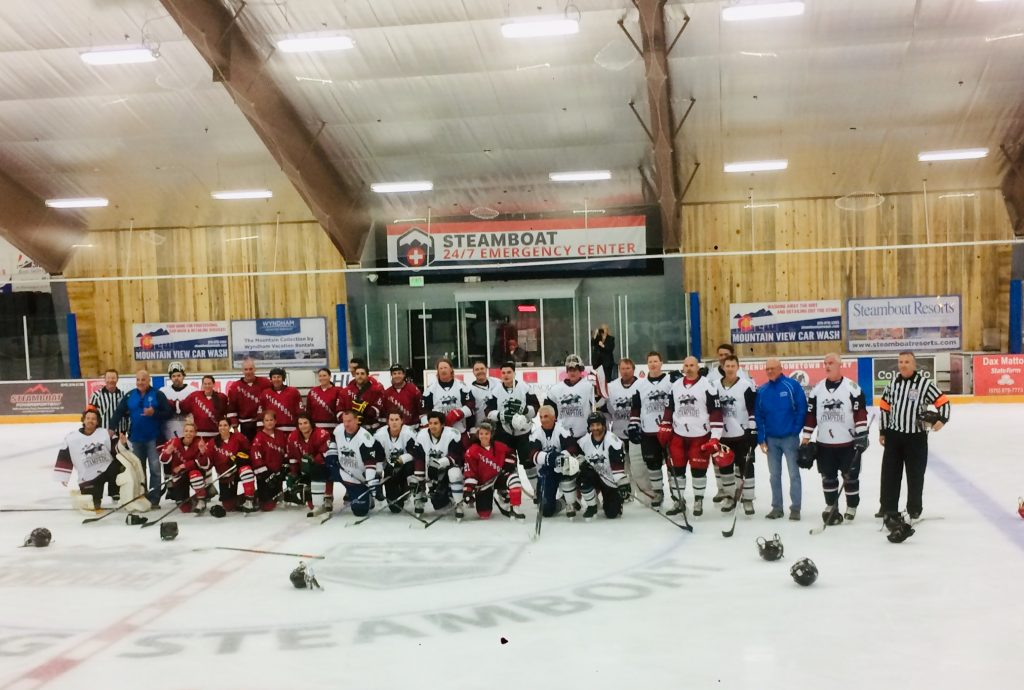 Steamboat Hockey Classic — Charity Hockey Game.