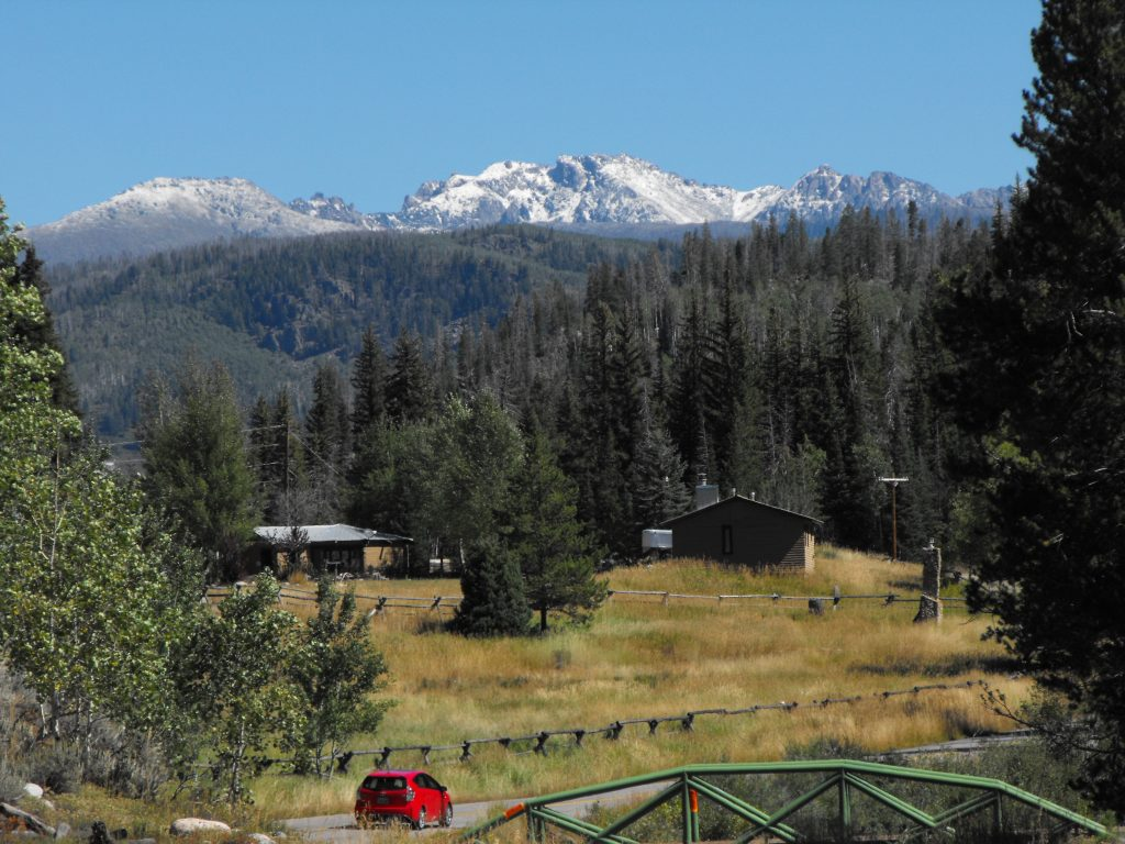 Mount Zirkel, 9-13-19, snow on the high country.