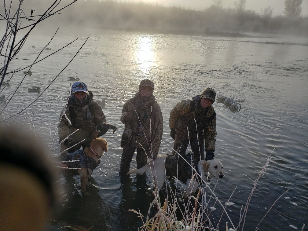 Darrin Vietanen shares photos from duck hunting.