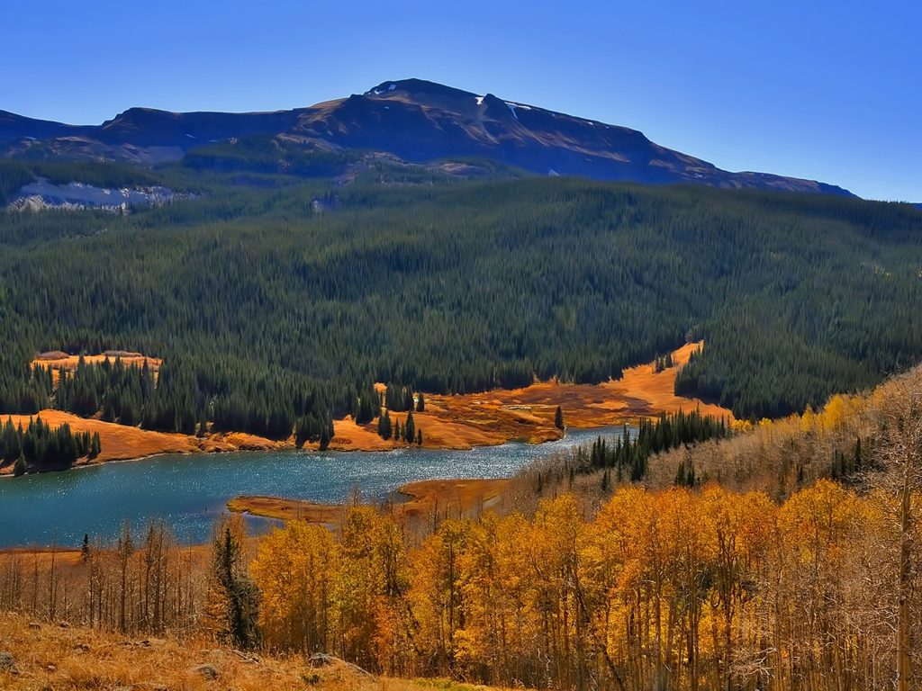 Bear Lake, Flat Tops Wilderness Area