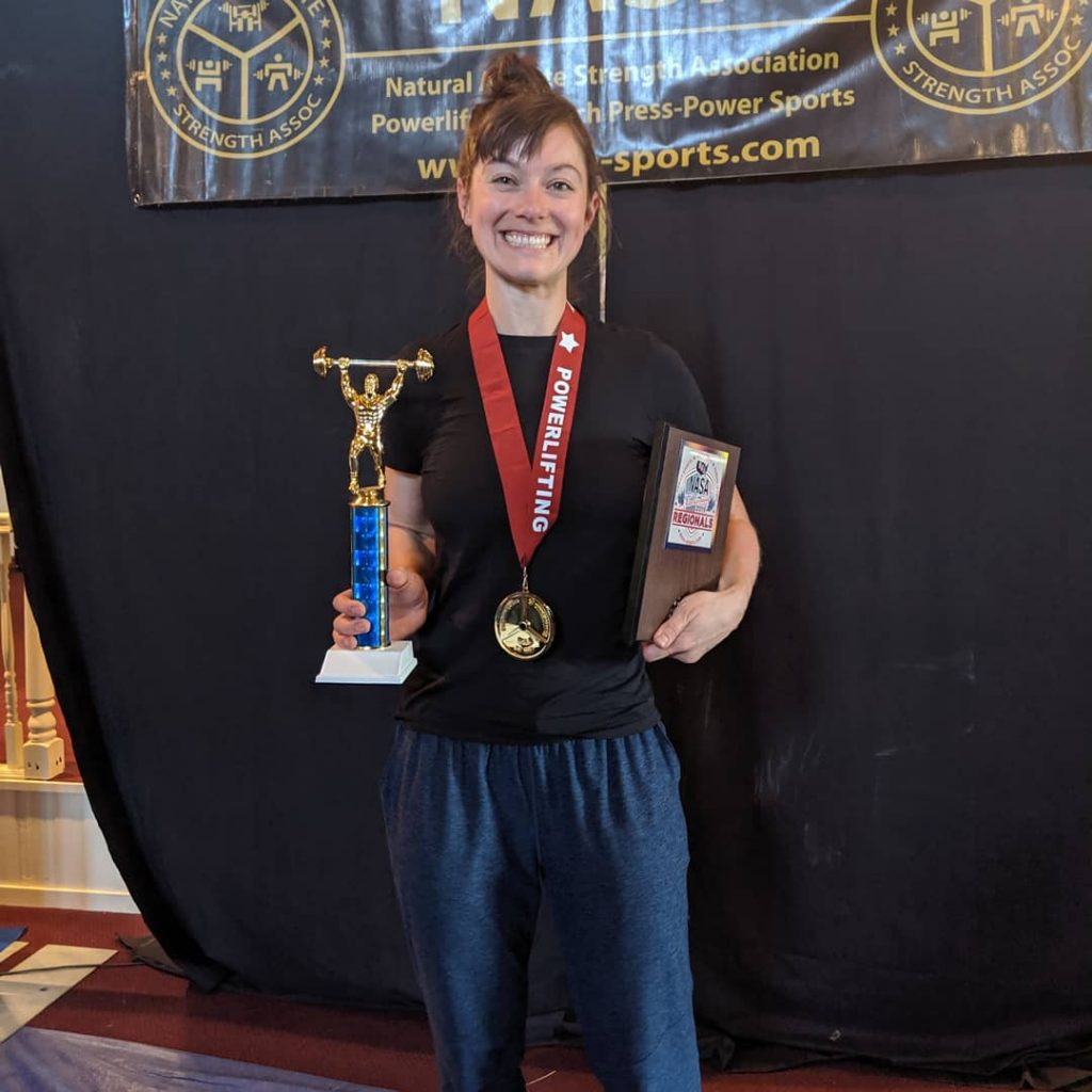 Powerlifting powers Steamboat woman past eating disorder