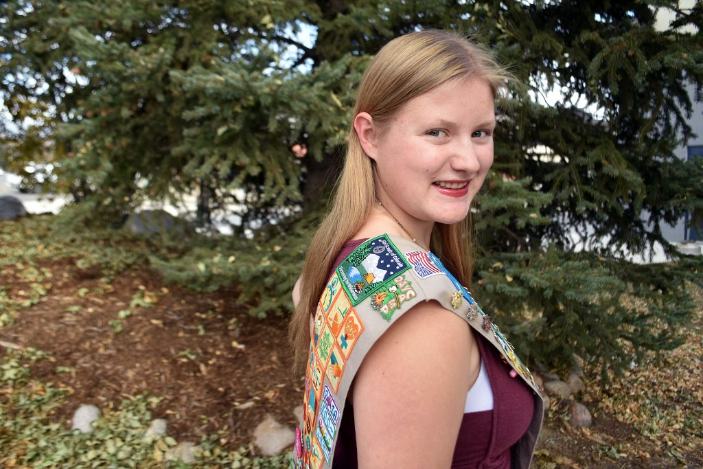 Clark Girl Scout creates program to teach kids wilderness skills