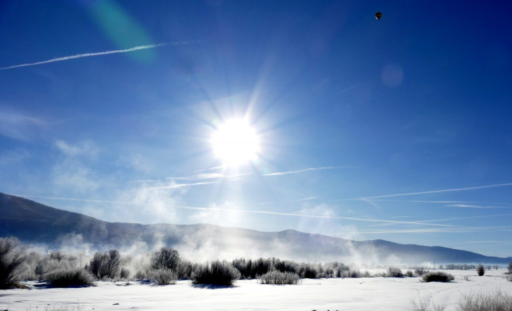 Steamboat Springs was hit was another frosty morning.