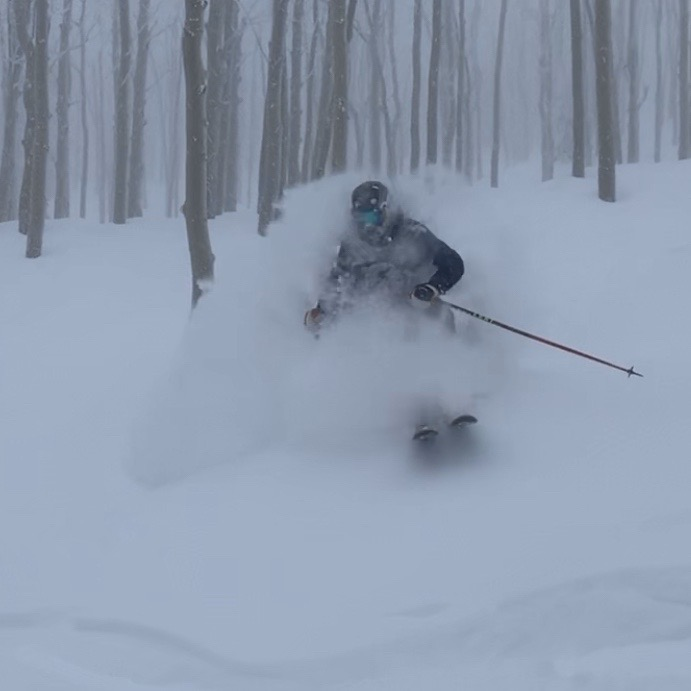 It was a great powder day in Steamboat on Thursday, Jan. 2.