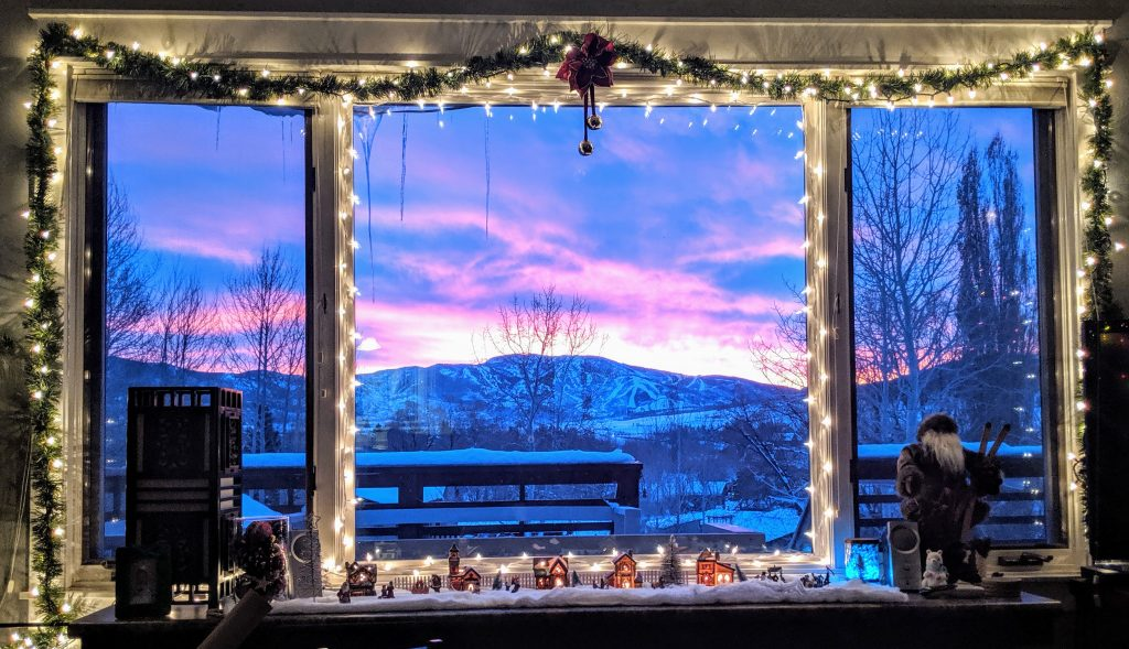 The holiday season is alive in Steamboat Springs.