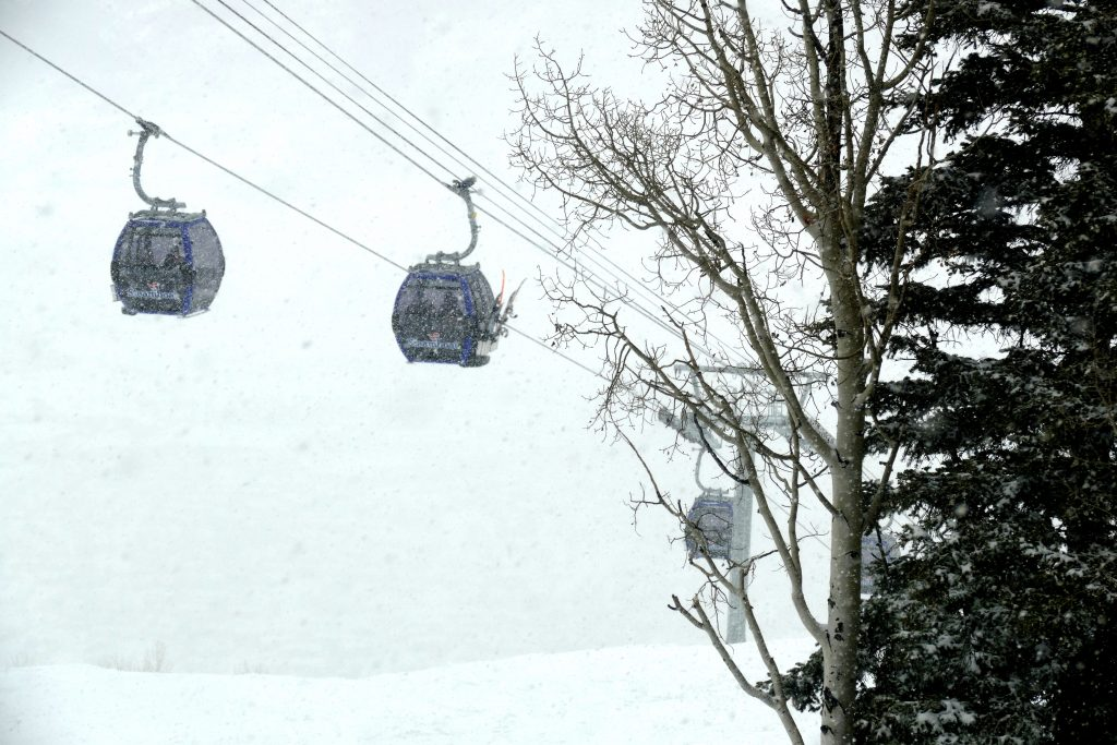 Views from Steamboat Resort's gondola