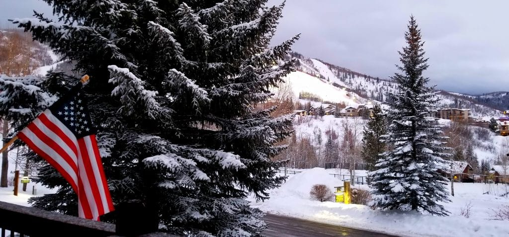 Snow coats the landscape in Steamboat Springs on Monday, Jan. 28.