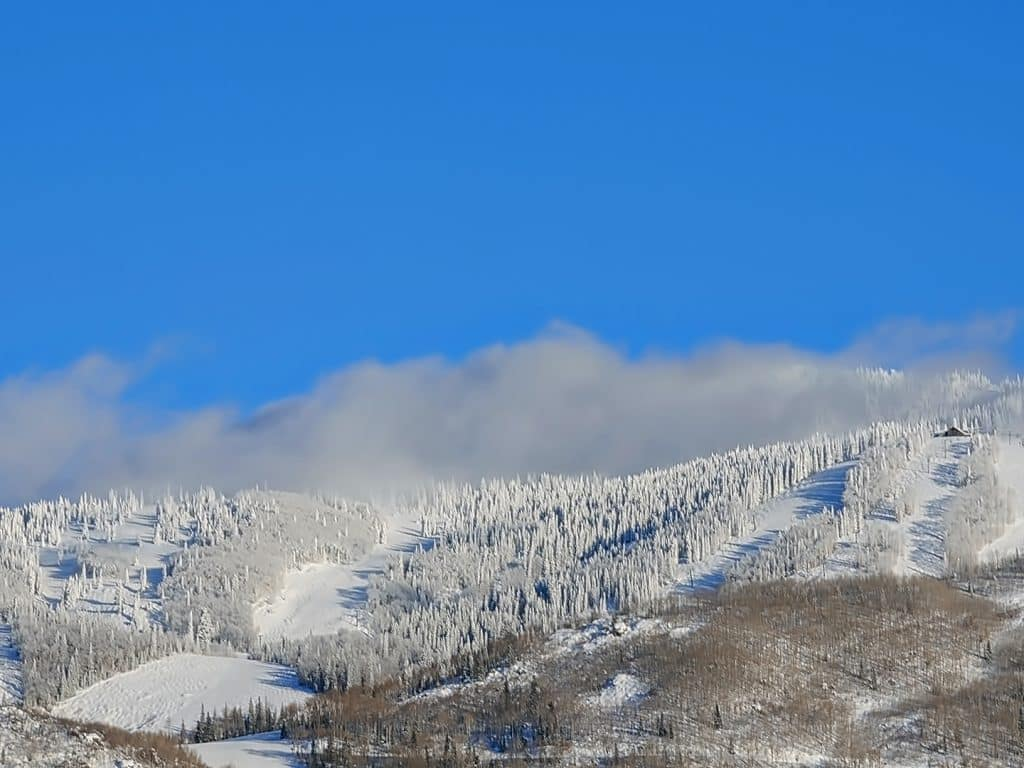 Steamboat Resort in the afternoon.