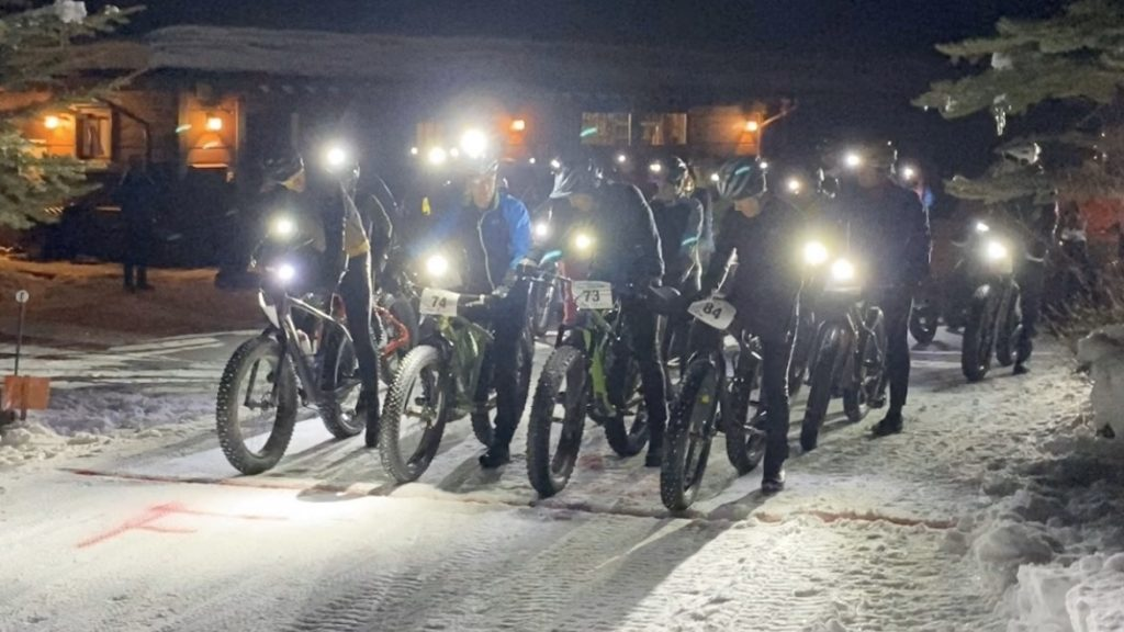 Pleasant Valley Full Moon Race Ride at Lake Catamount in Routt County.