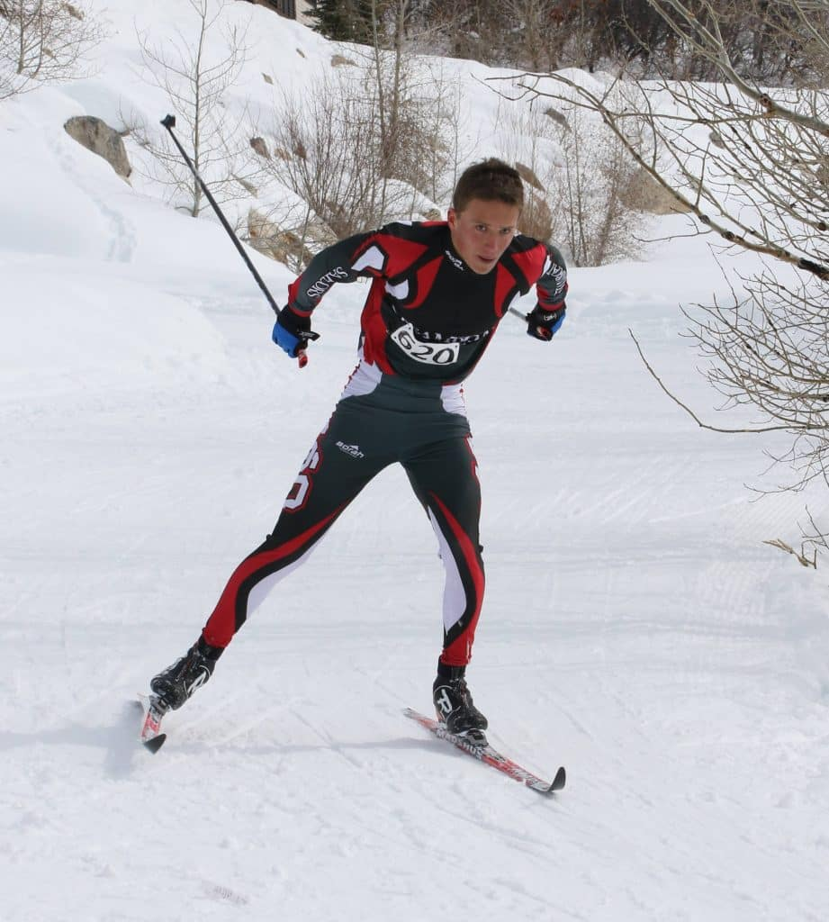 Photos from cross country ski race Saturday