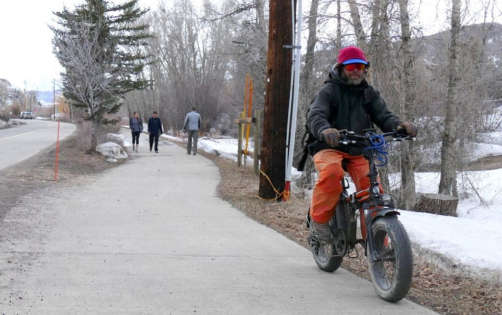 Yampa River Core Trail is a welcomed way to socially distance.