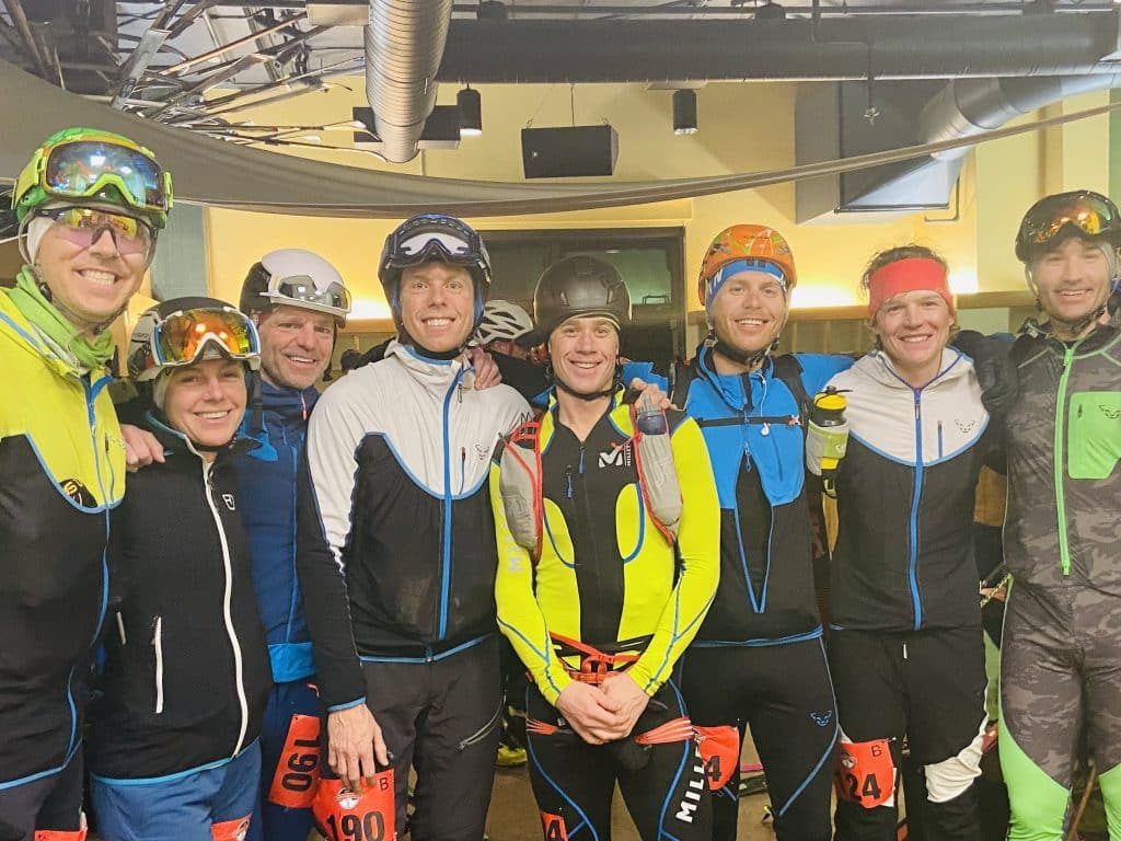 Steamboat represented in the Audi Power of Four Ski Mountaineering Race on Saturday 2/29. It encompasses 11,500 feet of vertical and 26 miles of challenging terrain across Aspen's four peaks. Photo credit: Susie Bockard