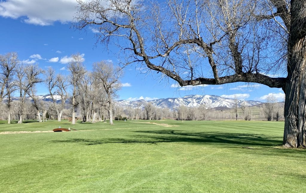 Steamboat Golf Club on Tuesday afternoon.