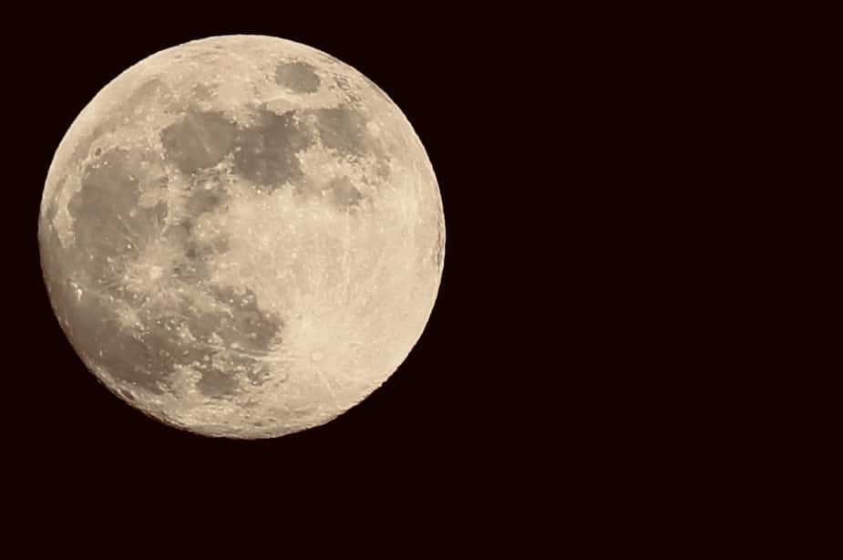 Moon: 99.3% - on Thursday, June 4, 2020. Full Moon is on Friday, June 5, 2020