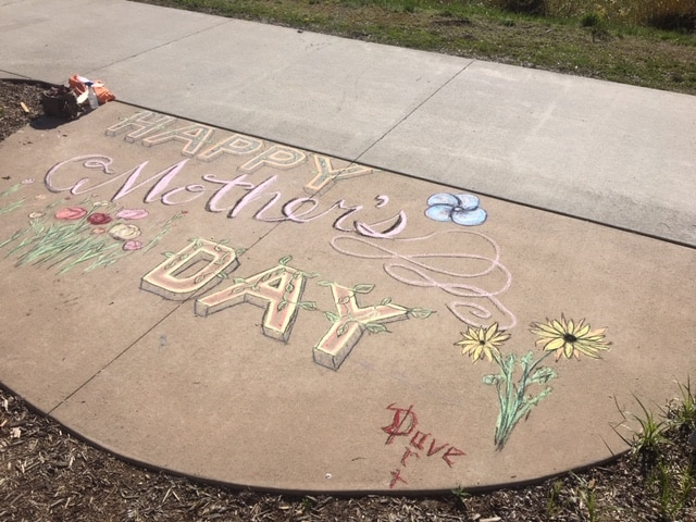 Mother's Day message for the moms at Casey's Pond