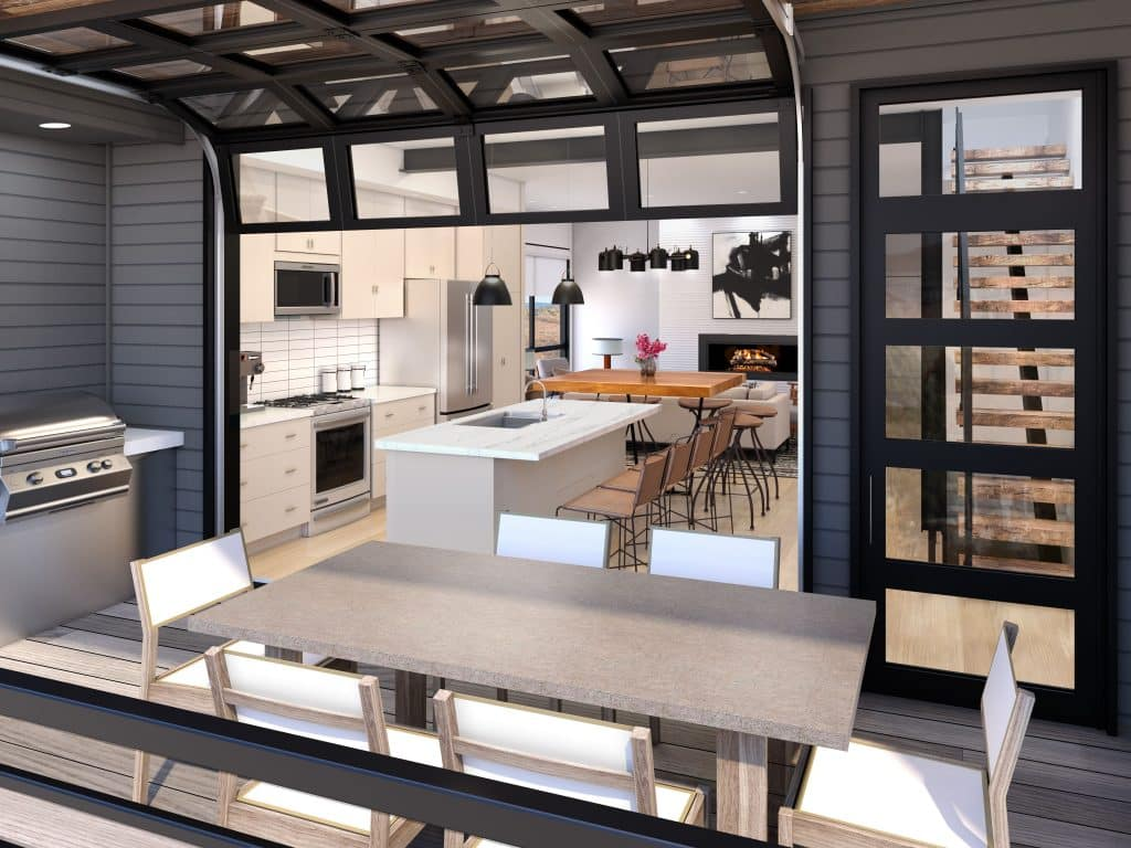 There's demand in the Steamboat market for new construction that offers low-maintenance living, flexible spaces, indoor/outdoor opportunities and bright, open interiors.