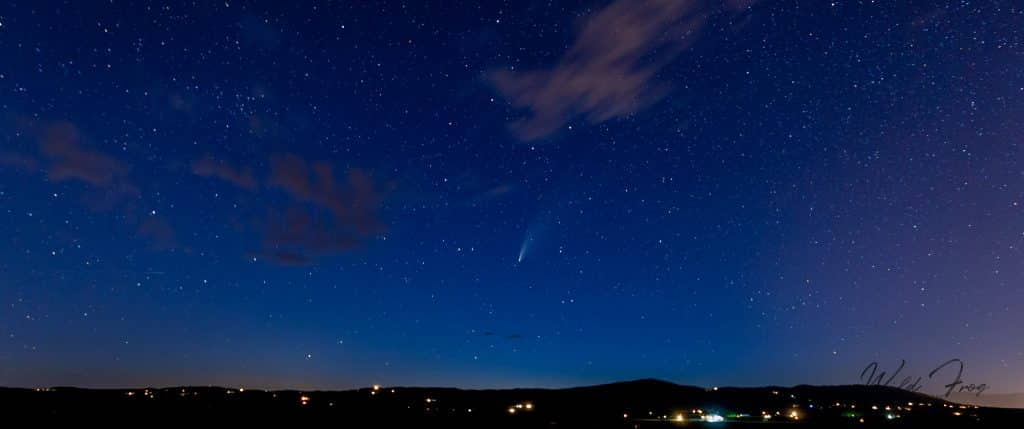 Neowise Comet taken on the 20th July from County Rd 14