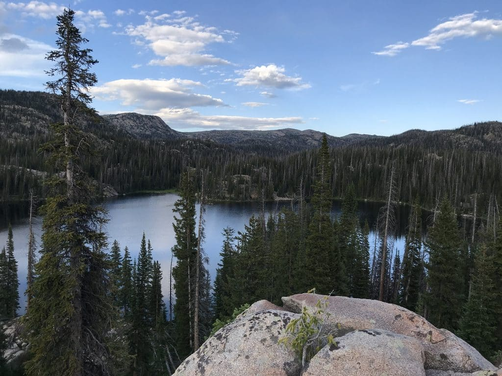 Lake Margaret at head of Middle Fork Mad Creek August 2019
