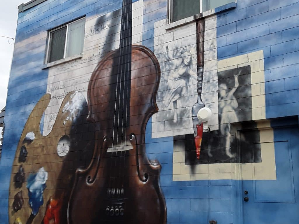 Gregory Block's mural does elevate the arts in Steamboat!