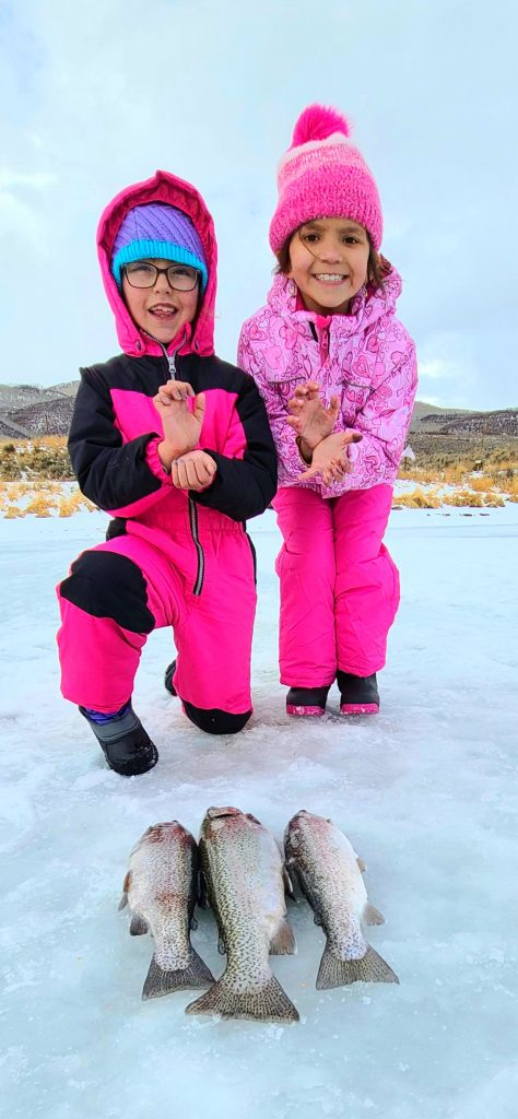 Ice Fishing Fun at Stagecoach Lake