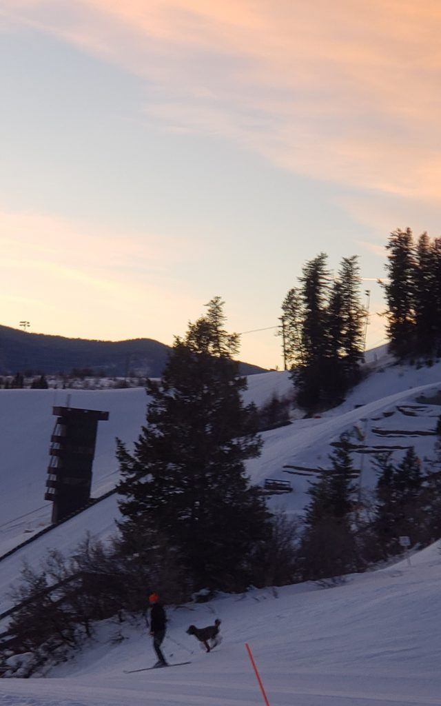 Cold Comfort: -3 F at 7 a.m. at Howelsen Hill in Steamboat Springs.
