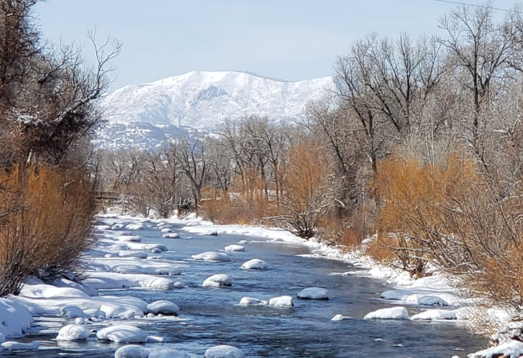Along the mighty Yampa River