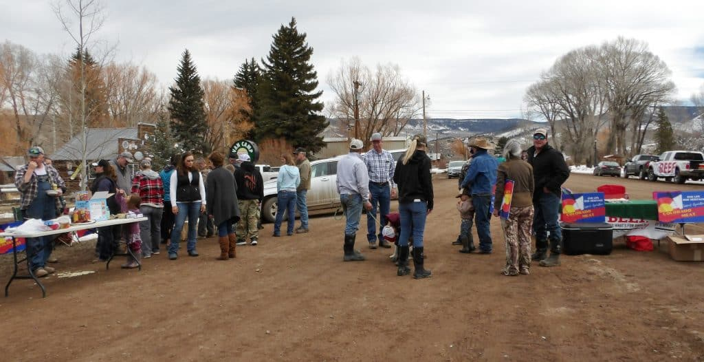 YAMPA MEAT-IN LUNCH GATHERING