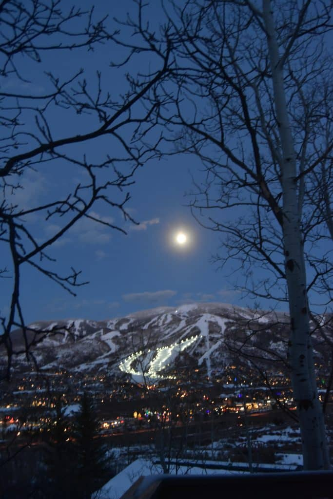 Full Moon Over Steamboat