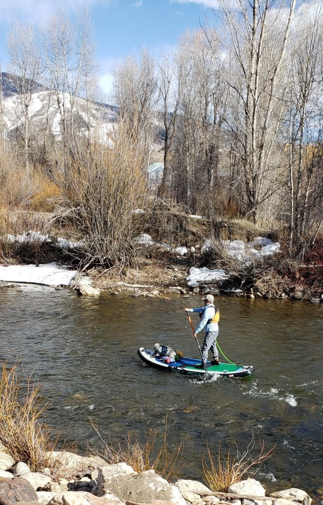 Seen on the Yampa River.