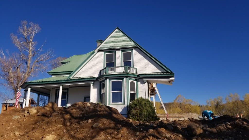 Partial demolition of the historic FM Light House landmark for planned addition.