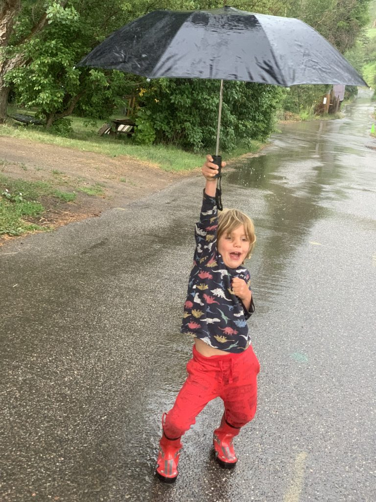 This sums up how we all felt about the rain this weekend.
