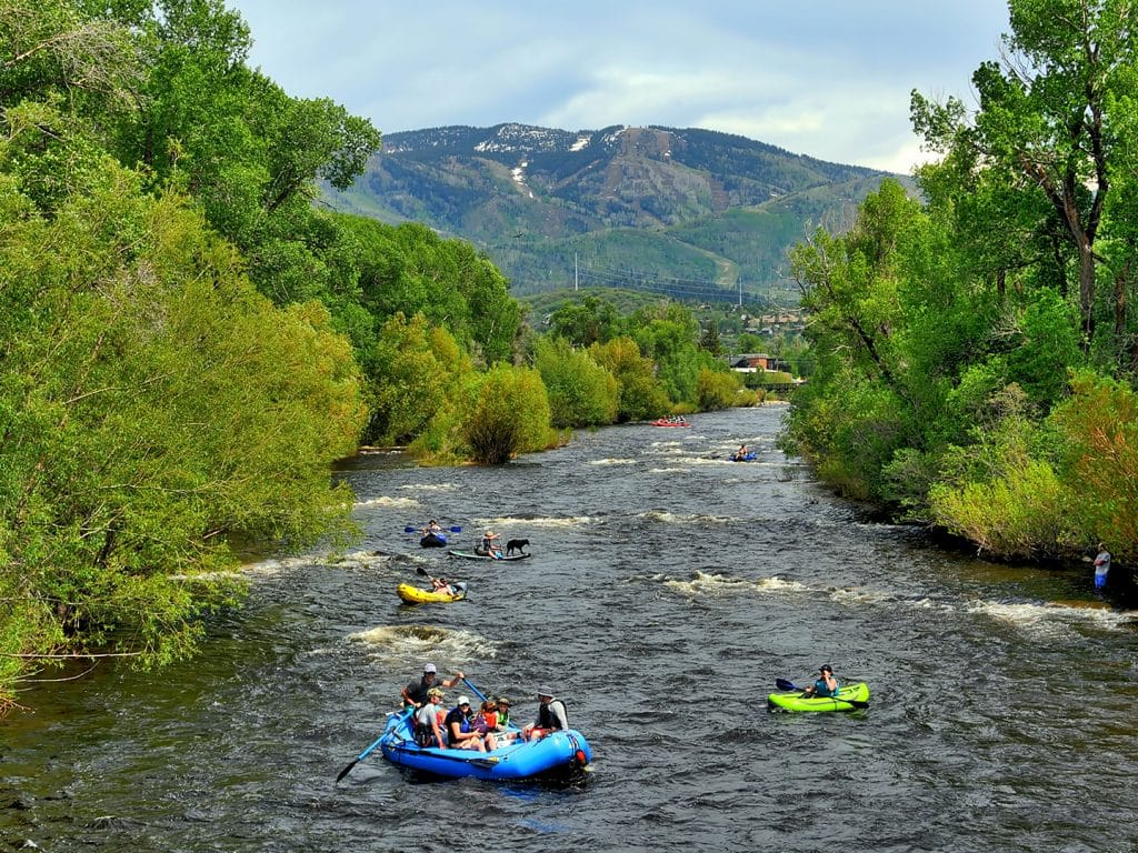 Floating the Yampa