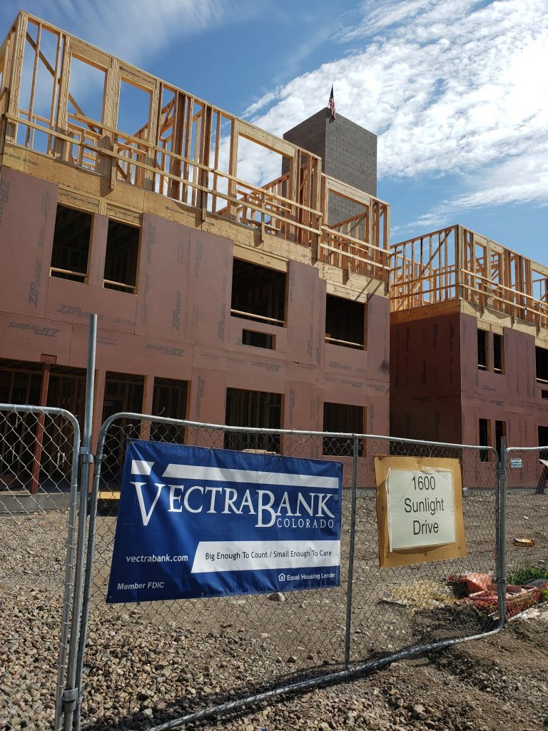 Vectra is supporting the Sunlight Crossing project, which is working to address affordable housing in Steamboat Springs. (Photo courtesy of Vectra Bank)
