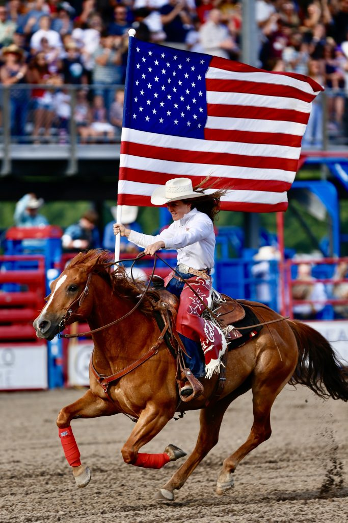 Nothing more American than the Steamboat Springs Pro Rodeo on the 4th of July.