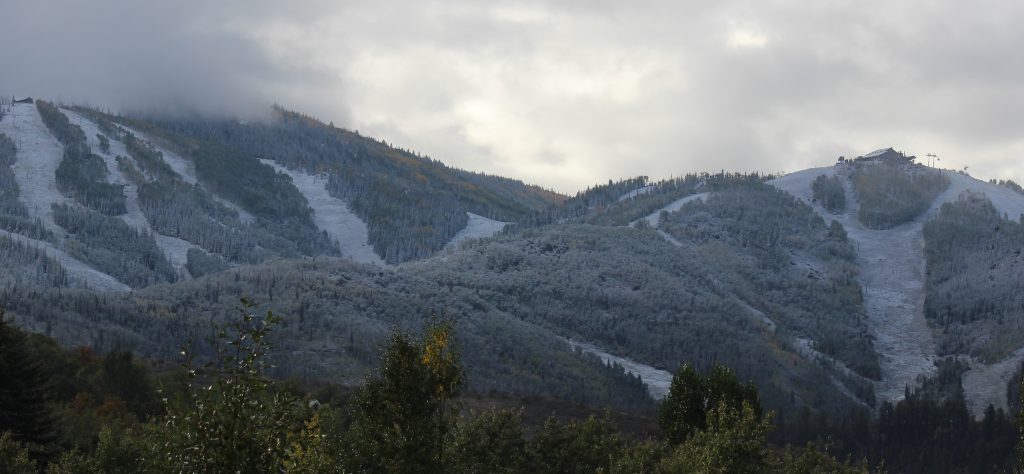 Is it Fall yet?  Great to see some snow on the mountains!