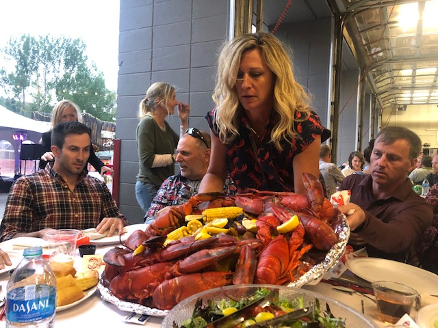 the Rotary Annual Lobsterfest held Sept 11th at the Steamboat Springs Fire Station.    Benefitted Routt County Crisis Support and other Rotary beneficiaries.   About 250 attended.  Over $50K raised.