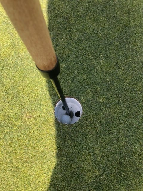 Hole in one-haymaker golf course
